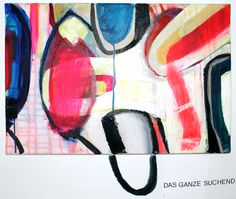 Das Ganze Suchend, Birgit Nagengast, 2015, München, Acryl auf Leinwand