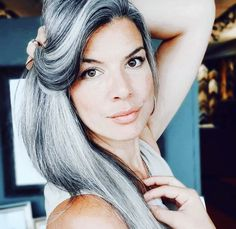 Gray Hair Growing Out, Grow Out, Boho Hairstyles, Fifty Shades Of Grey, Grey Hair, Boho Fashion, Interview, Dreadlocks, Style Inspiration