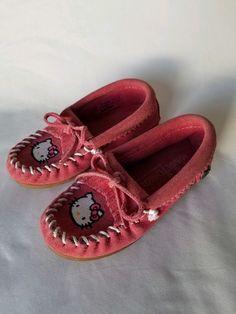7dcaa24ec Hello Kitty Kilty Moccasin Minnetonka size kids 9  fashion  clothing  shoes   accessories  kidsclothingshoesaccs  girlsshoes (ebay link)