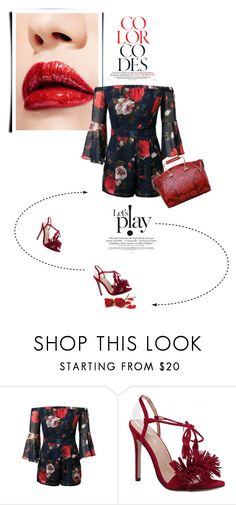"""""""Red"""" by theitalianglam ❤ liked on Polyvore"""
