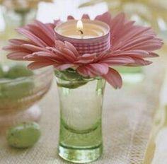 Altar candle idea