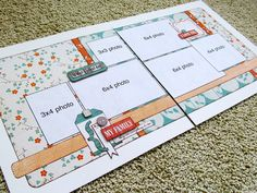 Similar paper placements to the Stella layout I created. This makes me think of Cruisin'.