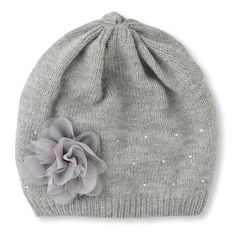 rosette knit cap (Children's Place 4-14)