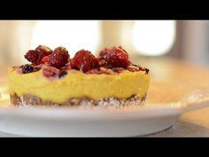 Tarta raw de lamaie cu fructe de padure   Traieste Gateste cu Dragoste - YouTube Raw Vegan, Vegan Food, Vegan Recipes, Cheesecake, Desserts, Youtube, Pie, Tailgate Desserts, Deserts