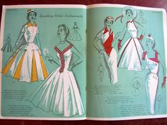 1955 Modes Royale PATTERN BOOK Catalog for Spring and Summer