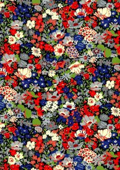 Liberty Fabrics - Thorpe K - The Strawberry Thief Design Textile, Fabric Design, Pattern Design, Floral Design, Cute Wallpapers, Wallpaper Backgrounds, Textures Patterns, Print Patterns, The Strawberry Thief