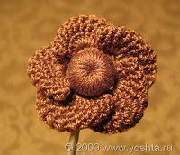 Tutorials for several crocheted flowers. (free)