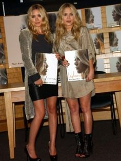 Style Icons - The Olsen Twins - These cute, adorable, actresses, trained fashion designers, the Olsen twins have managed, in just a few years to capture the admiration of young girls, fashionistas and critics throughout their careers. Check out Mary-Kate and Ashley Olsen's fashion styles!