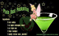 Disney inspired alcoholic beverage
