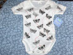 Stamped baby onesies
