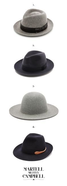 Eastdane Hat Wishlist, no. 3 is definitely for me!