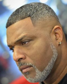 Crazy How We Be Like 60 Years Of Age And Still Look This Good . Crazy how we be like 60 years of age and still look this good black haircut and beard styles - Black Haircut Styles Black Haircut Styles, Black Men Haircuts, Black Men Hairstyles, Hairstyles Haircuts, Trending Beard Styles, Beard Styles For Men, Hair And Beard Styles, Goatee Styles, Thin Beard