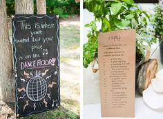 Fun Backyard DIY Summer Wedding