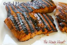 We love salmon here but sometimes the same old recipes get a little boring. What I like about this one is the layering of flavors and the fact that the fish is grilled, creating those awesome char …