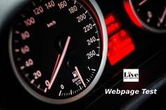 Web Page Speed Test ~ Tips