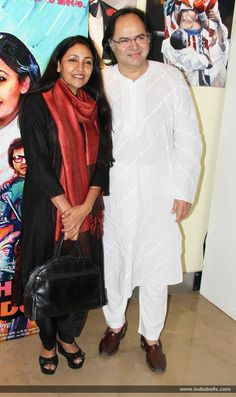 Farooq Sheikh and Deepti Naval at film Chashme Buddoor press meet