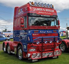 https://flic.kr/p/jiwXw9 | James S Hislop DAF XF P300JSH at Truckfest Scotland 2009 | Truckfest Scotland 2009 at the Royal Highland Showground, Ingliston, Edinburgh