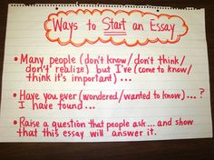 starting an essay about a person Paragraphs often have the same structure as the entire essay they begin with a sentence the first person com/write-the-perfect-personal-essay.