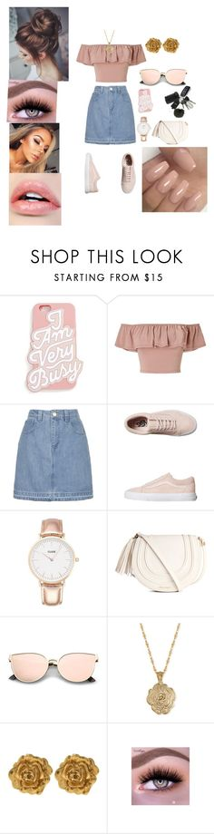 """Untitled #338"" by jada-aphrodite ❤ liked on Polyvore featuring ban.do, Miss Selfridge, Topshop, Vans, CLUSE, 2028 and Liberty"