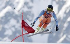DAY 10:   Kjetil Jansrud of Norway competes during the Alpine Skiing Men's Super-G http://sports.yahoo.com/olympics