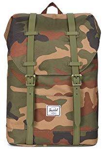 Amazon.com   Herschel Supply Co. Kids  Retreat Youth Backpack, W CAMO 578680fe95