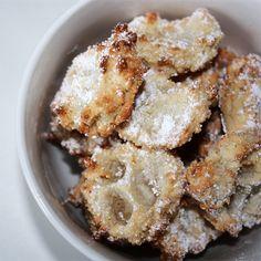 Elly's Art: Almond Cloud Cookies - Marzipan Cookies