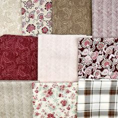 Get quilt store quality fabrics at outlet prices. Laura Ashley, Yards, Fabrics, Quilts, Free Shipping, Blanket, Stuff To Buy, Collection, Tejidos