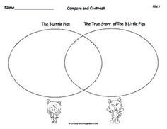 Three Little Pigs & The True Story of the 3 Little Pigs- C