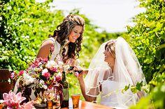 Summer winery wedding inspiration at Sanctuary Vineyards