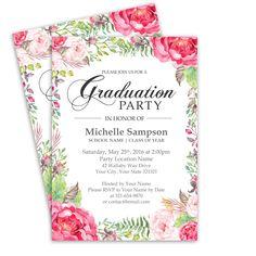 Graduation Lunch Invitation