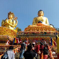 Buddhist Stupa in Kathmandu #Nepal #Kathmandu #BuddhistStupa #BuddhistShrine #NepalTravel