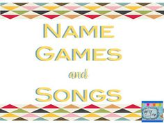 Great list of songs for the first days for all grade levels. Some I already love to use!