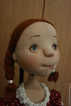 "Men handmade.  Fair Masters - handmade Dolls ""dress with polka dots.""  Handmade."