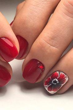 red manicure #red #manicure #love #nails #nailart #beautiful #gelnails #nail #art #naildesign #fashion #gelpolish #nailswag #nailpolish #nailsoftheday Red Manicure, Gel Nails, Swag Nails, Gel Polish, Pedicure, Nailart, Nail Designs, Beautiful, Gel Nail