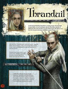 Thranduil (Legolas's father, king of Mirkwood) - who'd have thought Lee Pace could get any hotter?