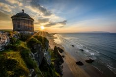 Musseden Temple Ireland Sunset by Chris Curry on 500px