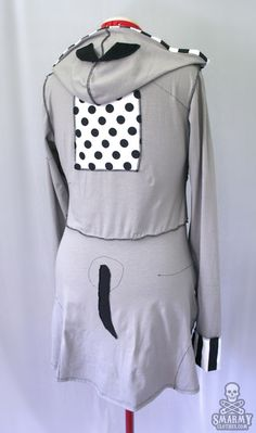 Frankenweenie Sparky zombie hoodie [sold] - Click Image to Close