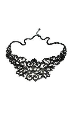 Baroque Frame Necklace, THE CULTLABEL