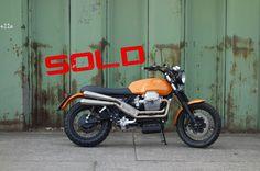 Moto Guzzi Scrambler by Doc Jensen - sold