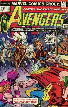 "Before Hawkeye founded the West Coast Avengers: ""Yippie ki yay"" meets ""Avengers assemble""! Part of the ""Serpent Crown"" storyline (see Comic Book Database)."