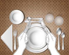 Como usar talheres corretamente: dicas de etiqueta à mesa - Terra