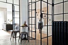 Gorski Residence by FJ Interior Design Cristalera divisoria