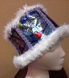 Handmade Crochet Capri Sun Juice Bag Hat by GiftedAcorn on Etsy
