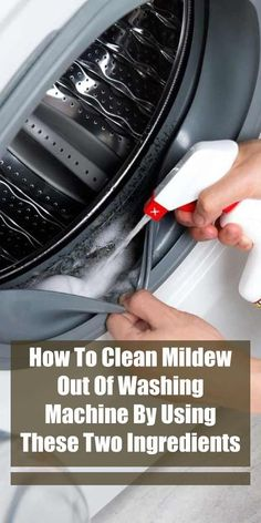 How to Get Rid of Mildew Smell with just 1 ingredient! Add this one ingredient to your wash and that old smell will be gone! This works great with clothes and towels too! Smelly Washing Machines, Washing Machine Smell, Clean Your Washing Machine, Cleaning Washer Machine, Deep Cleaning, Spring Cleaning, Cleaning Hacks, Cleaning Recipes, Laundry Hacks