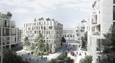 Tredje Natur, AART Architects and Arup Team Up for Copenhagen Island Competition…