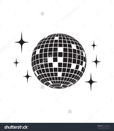 Find Disco Ball Vector Icon stock images in HD and millions of other royalty-free stock photos, illustrations and vectors in the Shutterstock collection. Thousands of new, high-quality pictures added every day. Vector Icons, Vector Free, Doodle, Visual Thinking, Party Icon, 80s Design, Print Design, Graphic Design, Light Tattoo