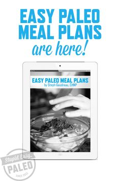 Another excellent pointer that paleo people enjoy is make ahead meals. Rather than preparing a substantial meal when you stroll in the door at night, take one day in the week to prepare and freeze all of your meals. Paleo Meal Plan, Paleo Diet, Paleo Meals, Meal Prep, Paleo Trail Mix, Stupid Easy Paleo, Paleo Protein Powder, Paleo For Beginners, American Diet