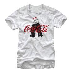 Coca Cola Men's - 100 Years Bottle Clink T Shirt #fifthsun #cocacola #coke