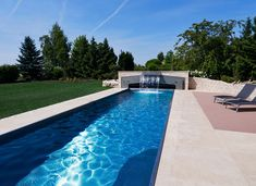 Projekte // Aussenbereich Hol Garage, Stone, Outdoor Decor, Modern, Home Decor, Photos, Pool Ideas, Swiming Pool, Waterfall