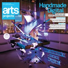 Art Direction: Computer Arts Projects Covers by Alan Wardle, via Behance
